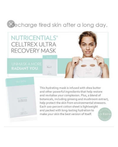 Nutricentials Celltrex Ultra Recovery Mask