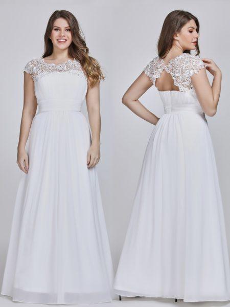 Open Back Evening Dress