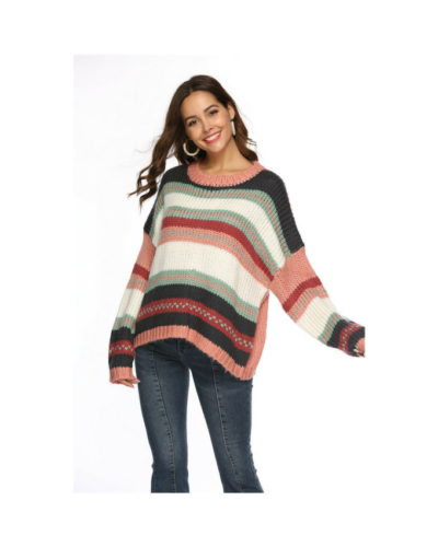 Blush Stripe Jumper