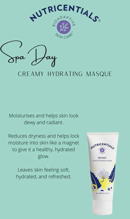 Spa Day Creamy Hydrating Masque