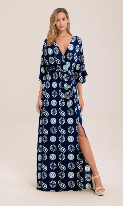 Swirl Maxi Dress