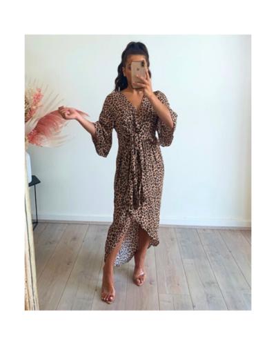 Rylee Leopard Dress