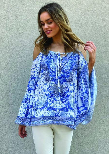 Aria Embellished Top