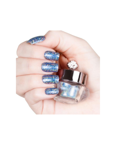 Electric Holographic Nail Powder