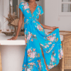 Jaase Blue Lagoon Maxi Dress