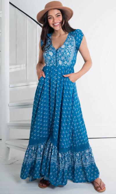 Jaase Carmen Saint Maxi Dress