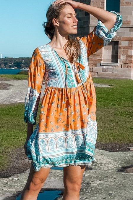 Kaylee Tunic Mini Dress