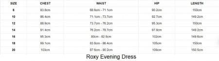 Roxy Evening Dress