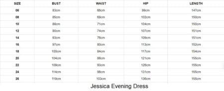 Jessica Evening Dress