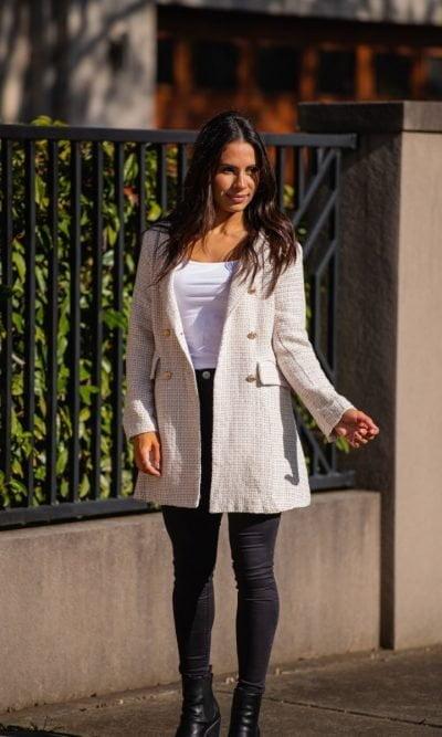 Oatmeal Tweed Jacket