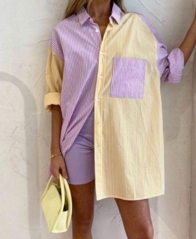 Hala Stripe Shirt